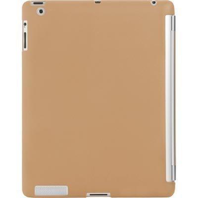 Sanho HyperShield pehmeämuovinen suojus sopii iPad2 &Smart Cover beig