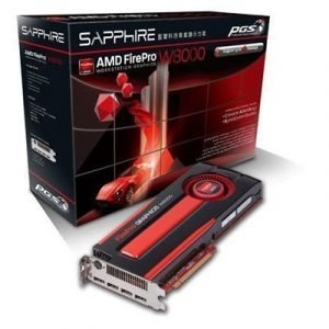 Sapphire Amd Firepro W8000 Näytönohjain