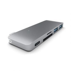 Satechi Type-c Usb 3-in-1 Hub Space Gray