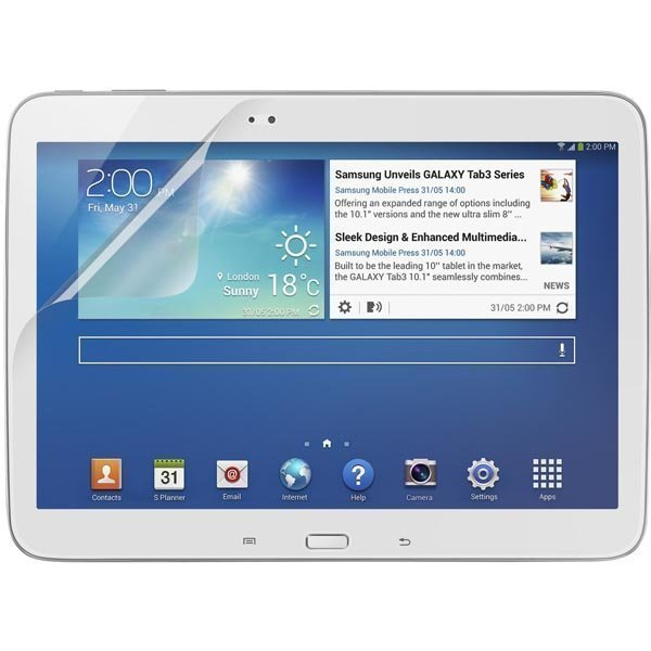 Screen Guard HD suojakalvo Galaxy Tab 3 10.1