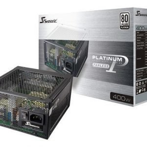 Seasonic Platinum Series 400 Fanless 400wattia 80 Plus Platinum