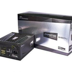Seasonic Prime Titanium 650w Fully Modular 650wattia 80 Plus Titanium
