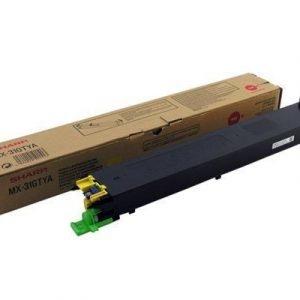 Sharp Värikasetti Keltainen Mx-4101n