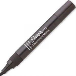 Sharpie Permanent Marker M15 Pyörökärki Musta 12kpl