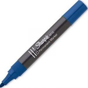 Sharpie Permanent Marker M15 Pyörökärki Sininen 12kpl