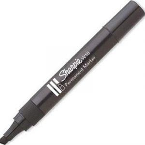 Sharpie Permanent Marker W10 Musta 12kpl