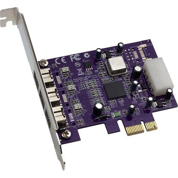 Sonnet Allegro FireWire 800 PCIe Card 3xFirewire 9-pin na
