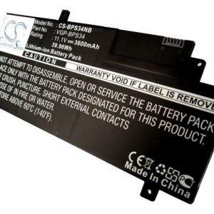 Sony F15A16 F15A16SC SVF15A13CW akku 3600 mAh
