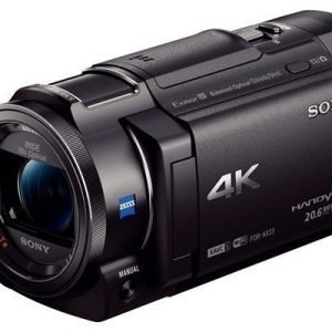 Sony Handycam Fdr-ax33 Musta
