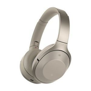 Sony Mdr-1000x Bluetooth Noise Cancelling Headphones Beige