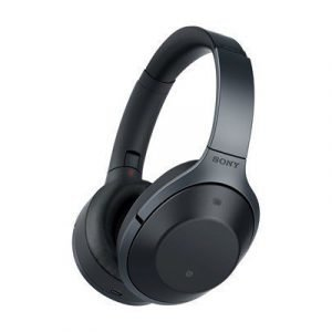 Sony Mdr-1000x Bluetooth Noise Cancelling Headphones Black