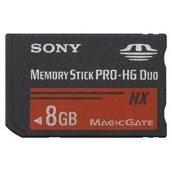 Sony Memory Stick PRO-HG Duo HX 8 Gt