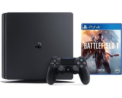 Sony Playstation 4 Slim 1tb + Battlefield 1 1000gb