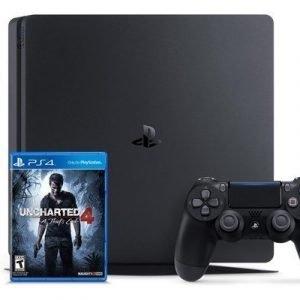 Sony Playstation 4 Slim 1tb+ Uncharted 4 1000gb