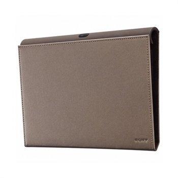 Sony SGP-CV 1 Nahka Suojakotelo Sony Tablet S Ruskea