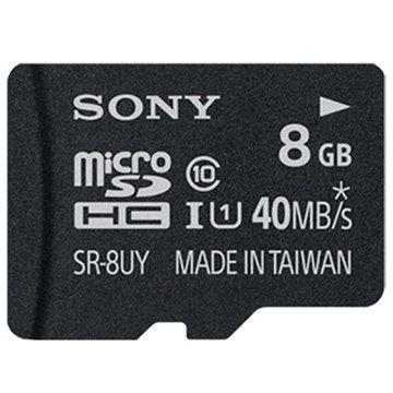 Sony SR-8UYA MicroSDHC UHS-1 Muistikortti Class 10 8Gt