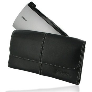 Sony Tablet P Leather Case Black