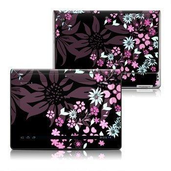 Sony Tablet S Dark Flowers Skin
