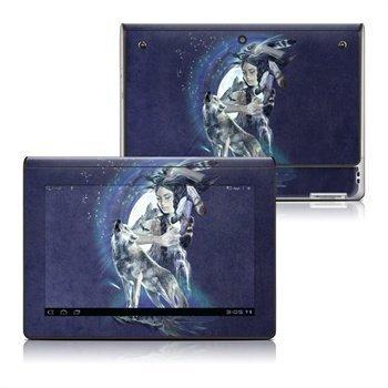 Sony Tablet S Howling Wolf Goddess Skin