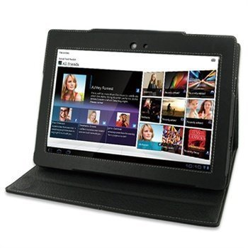 Sony Tablet S PDair Leather Case 3BSYBSBX1 Musta