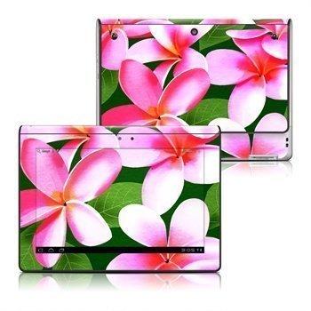 Sony Tablet S Pink Plumerias Skin