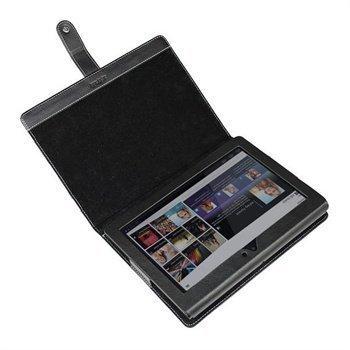 Sony Tablet S iGadgitz Nahkakotelo Musta