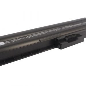Sony VAIO VGP-BPL12 ja VGP-BPS12 akku 4400 mAh - Musta