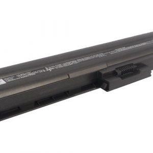 Sony VAIO VGP-BPL12 ja VGP-BPS12 akku 6600 mAh - Hopea