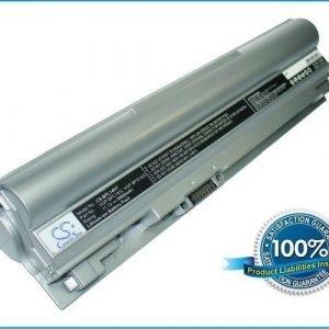 Sony VAIO VGP-BPL14 ja VGP-BPS14 akku 6600 mAh - Hopea