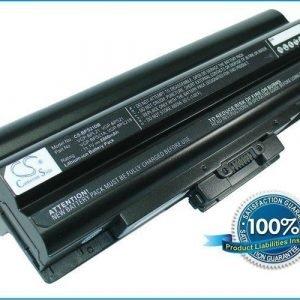 Sony VAIO VGP-BPL21 ja VGP-BPS21 akku 8800 mAh - Musta
