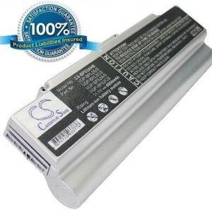 Sony VAIO VGP-BPS2A ja VGP-BPL2A akku 6600 mAh - Hopea