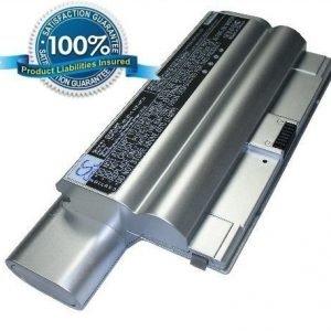 Sony VAIO VGP-BPS8 ja VGP-BPL8 akku 6600 mAh - Hopea
