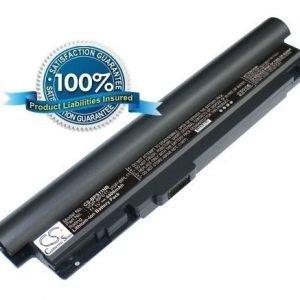 Sony VGP-BPL11 VGP-BPS11 akku 4400 mAh musta