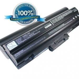 Sony VGP-BPL13 VGP-BPS13 VGP-BPS13/B VGP-BSP13/S VGP-BPS13A/B VGP-BPS13A/S VGP-BPS13B/B VGP-BPS13B/Q akku 6600 mAh musta