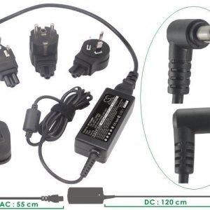 Sony Vaio PCG laturi verkkovirta 60W