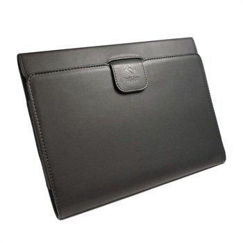 Sony Xperia Tablet S S 3G Tuff-Luv Nahkakotelo Musta