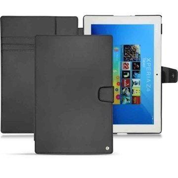 Sony Xperia Z4 Tablet LTE Noreve Tradition B Nahkakotelo Perpétuelle Musta