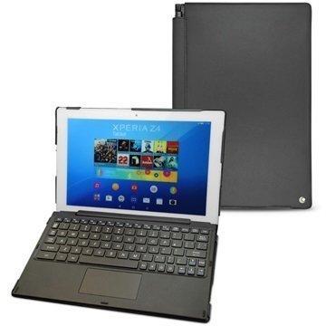 Sony Xperia Z4 Tablet LTE Noreve Tradition D Nahkakotelo Perpétuelle Musta