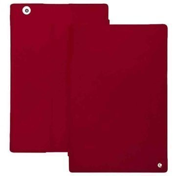 Sony Xperia Z4 Tablet LTE Noreve Tradition Nahkakotelo Perpétuelle Punainen
