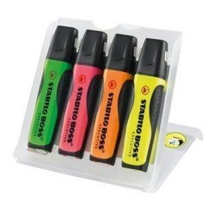 Stabilo Boss Executive Highlighter 4-set Color