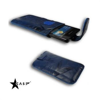 Starcase Lavato Premium Leather Case M Blue