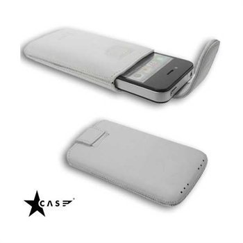 Starcase Lavato Premium Leather Case M White