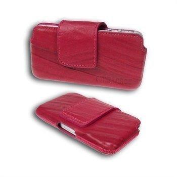 Starcase Q-Case Leather Case M Fuchsia