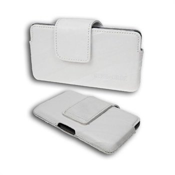 Starcase Q-Case Leather Case M White