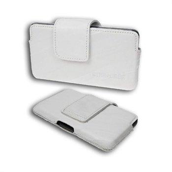 Starcase Q-Case Leather Case M White