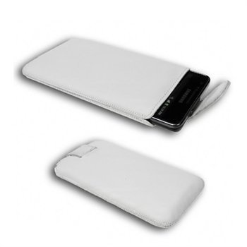 Starcase di base Linea Leather Case SL White
