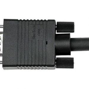 Startech 0.5m Coax High Resolution Monitor Vga Video Cable Hd15 M/m 15-nastainen Hd D-sub (hd-15) Uros 15-nastainen Hd D-sub (hd-15) Uros Musta 50m