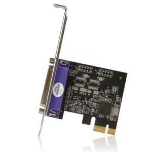 Startech 1 Port Pci Express Dual Profile Parallel Adapter Card
