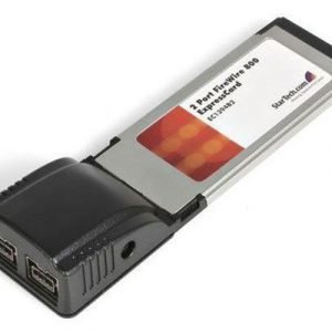 Startech 2 Port Expresscard 1394b Firewire Laptop Adapter Card 9-nastainen Firewire Naaras