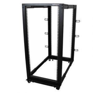 Startech 25u Open Frame 4 Post Rack Cabinet